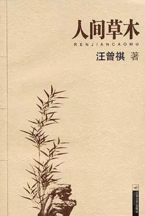 再读汪曾祺的《人间草木》,有不一样的兴味.