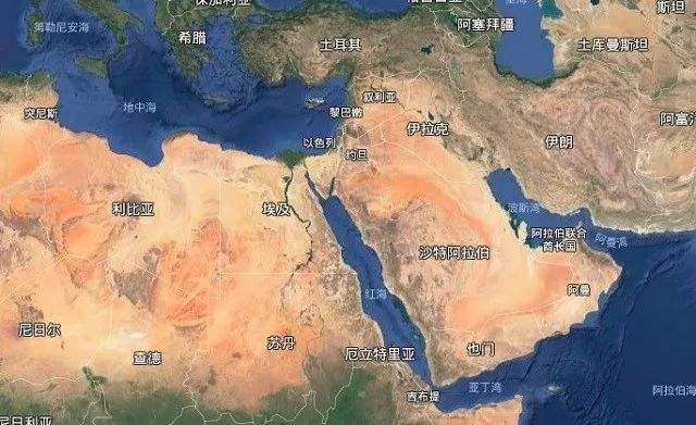 中东局势混乱,大战一触即发