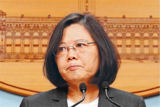 """台湾地区领导人蔡英文图片来源:""""中时电子报"""""""