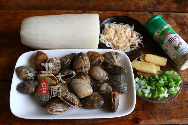 花蛤和白萝卜做汤居然鲜美,鲜香清口,调料太多作文就很好喝探秘恐龙岛不用图片