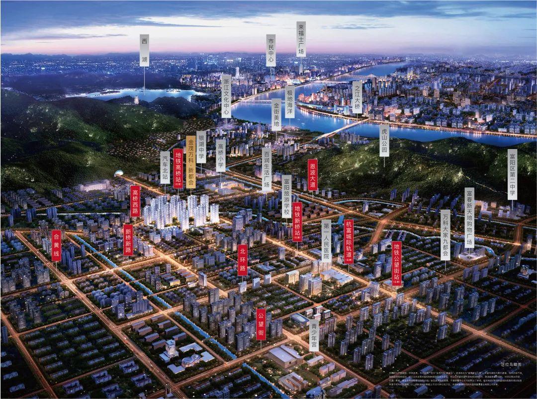 富阳高桥2020规划图