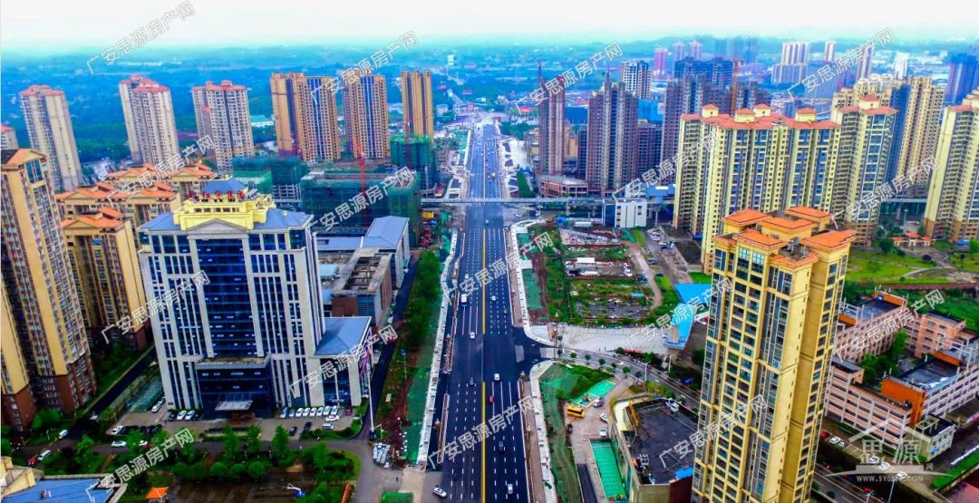 广安迎宾大道主线全线贯通 力争6月底前完成沿线乔木栽植