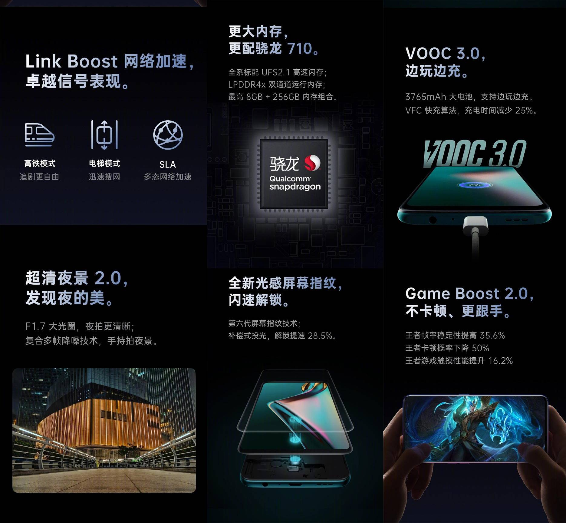OPPO K3硬盒邀请函曝光 骁龙710+升降镜头1X99元!