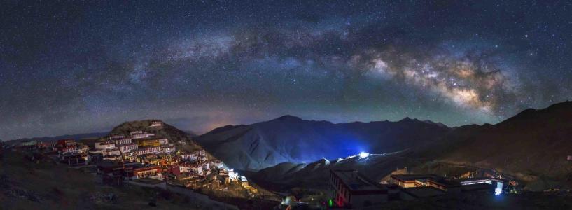 如何拍出夜空中的星星?西安摄影培训资深摄影讲师井峰来教你