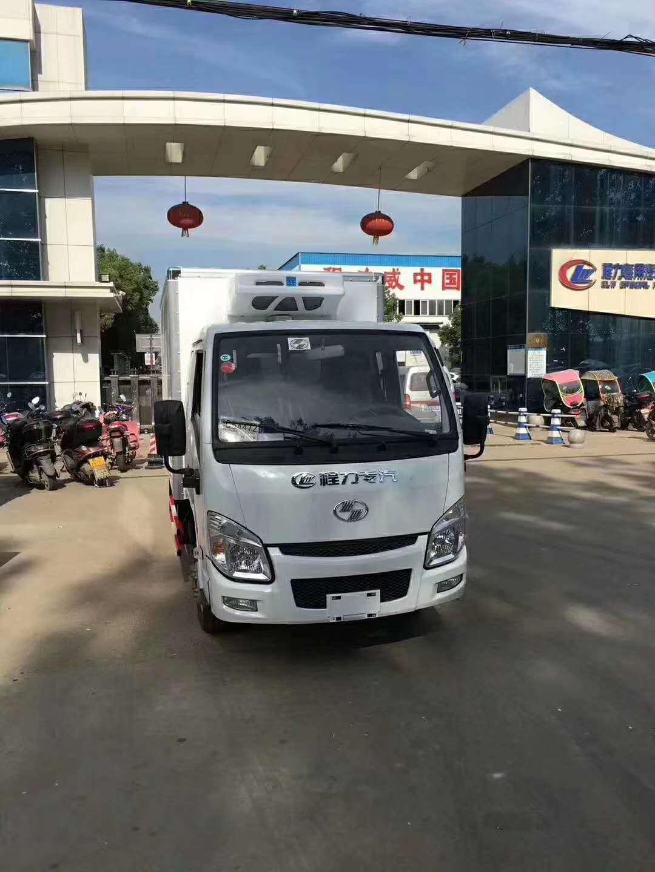 中国首辆半挂(带卧铺)小卡冷藏车——跃进小福星汽油版冷藏车上市
