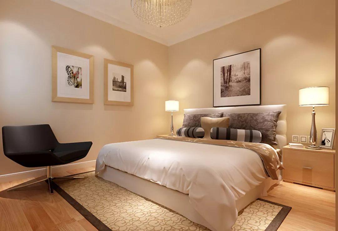 现代简约卧室设计图效果图