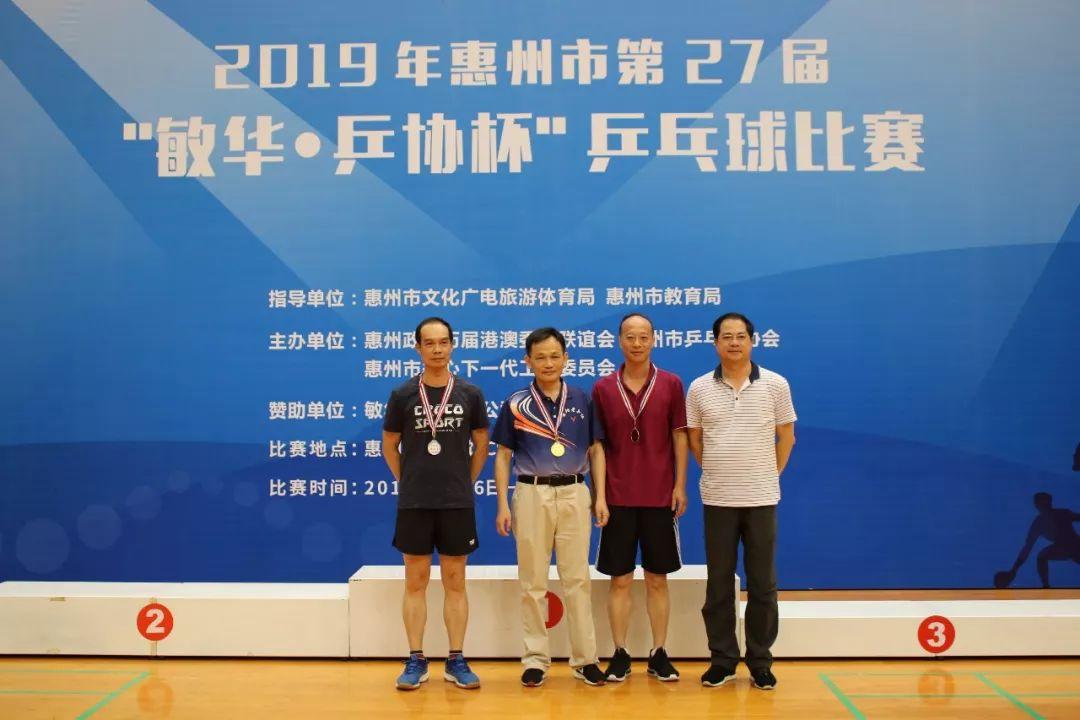 惠州市第27届敏华乒协杯乒乓球比赛落幕!北京斗牛分析仪图片