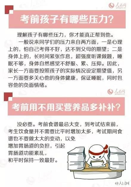 《人民日报》提醒: 高考前, 家长/考生都要知道的15件事!