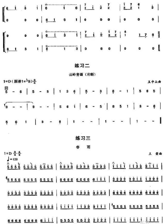 古筝近代演奏技巧中的重中之重,著名唐代大诗人白居易长诗《琵琶行》图片