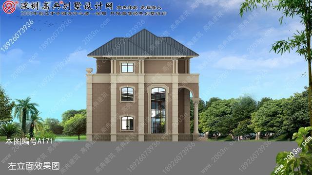 农村房屋设计图大全, 农村住宅设计图   a171