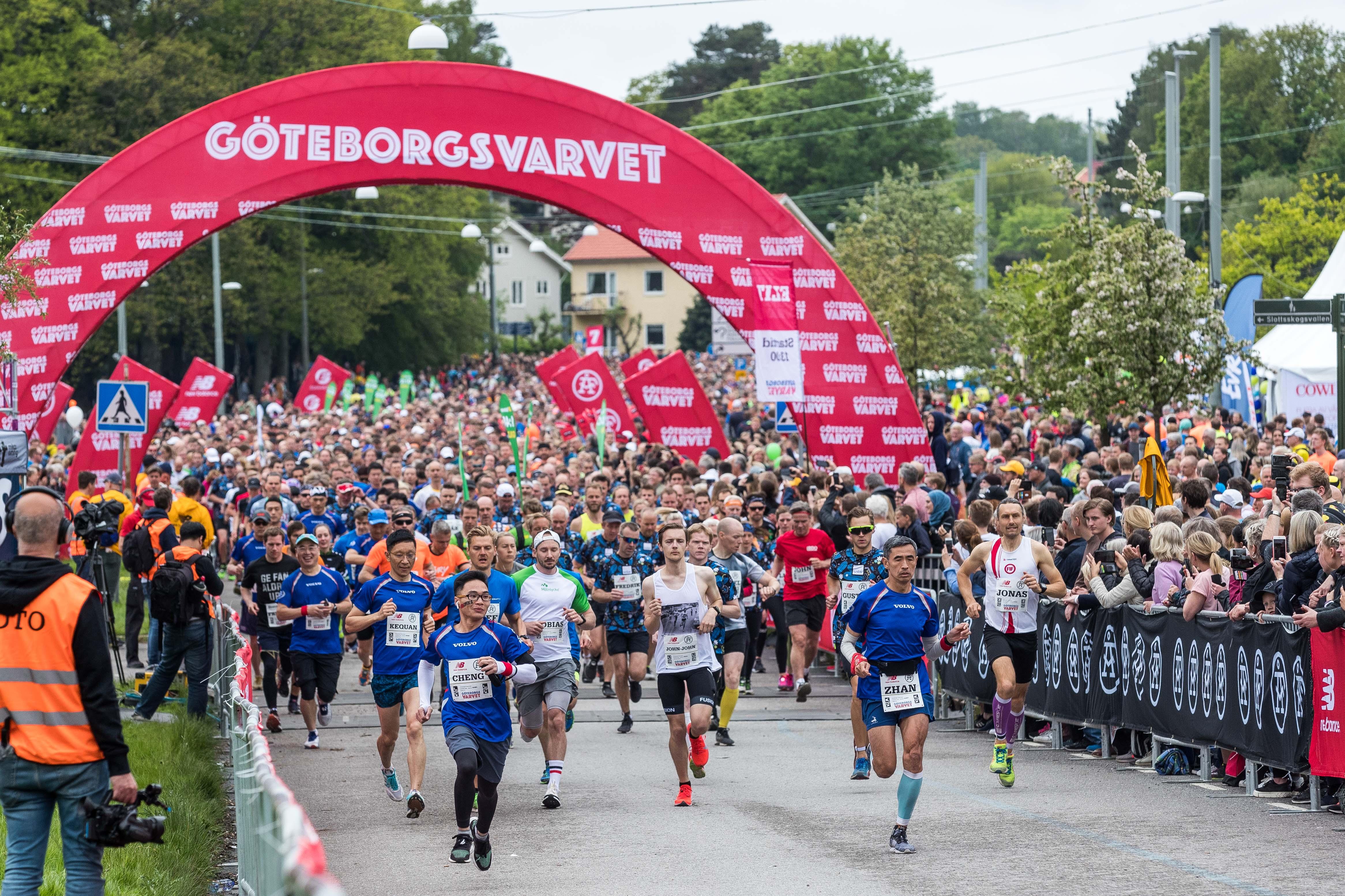"""一路清呼吸 沃尔沃汽车""""幸福守护""""2019哥德堡半程马拉松"""
