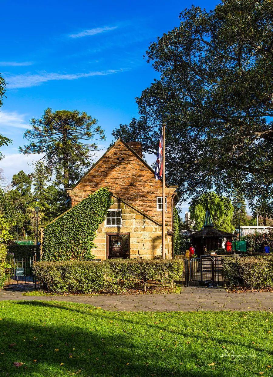 墨尔本费兹洛依公园与库克船长的小屋