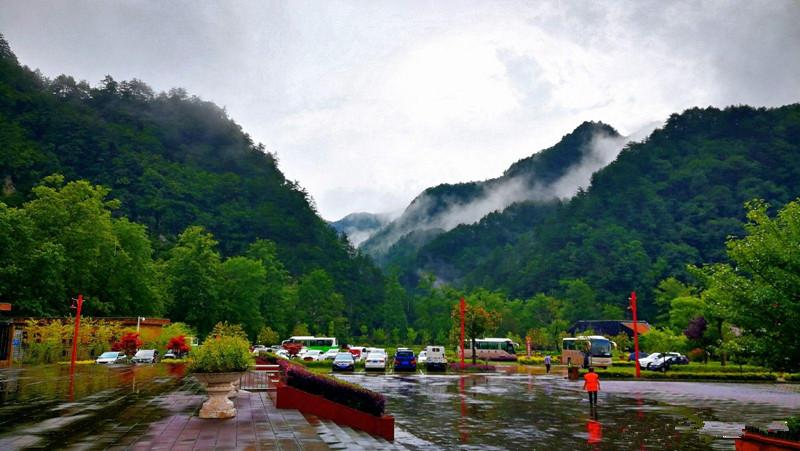 躲进22℃的汉中秘境黎坪 大自然山水画廊沁人心脾