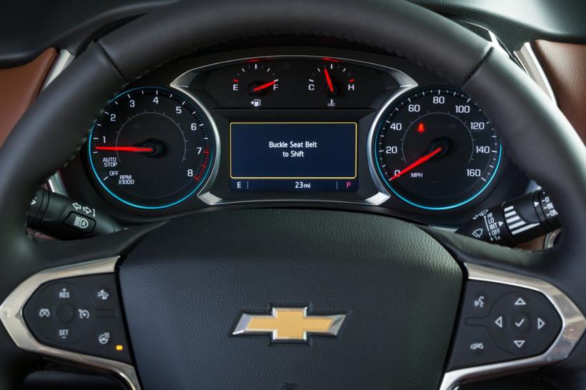 业界首创! 雪佛兰新功能让没有系安全带的青少年驾驶员无法挂挡前进