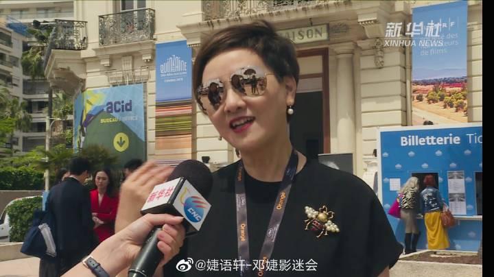 61岁邓捷接受采访又美又酷,张国立发文支持爱妻事业!