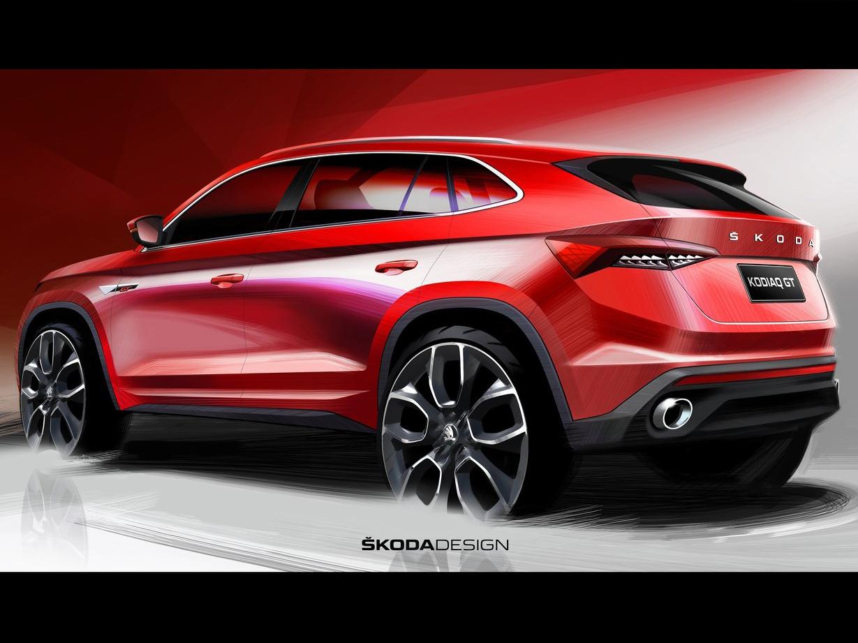 定位小型SUV 采用溜背设计 斯柯达柯米克GT最新消息出炉