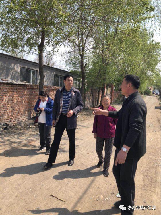 净月政务|净月高新区项目审核中心到新立城村开展入户走访活动