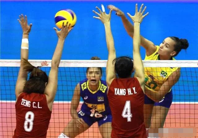 原创中国女排0-3负于巴西 差距是全方位的
