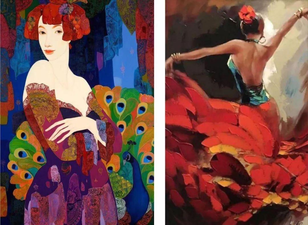 摄魂眼、妖冶唇、这些画中美人亘古不变的魅力是什么