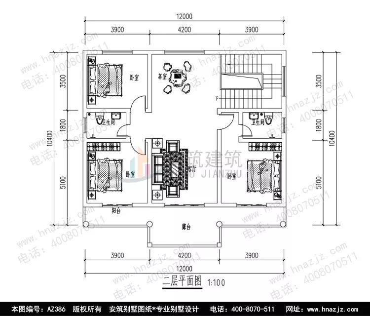 设计平面图  门厅,客厅,老人房(附内卫),厨房,餐厅,卫生间