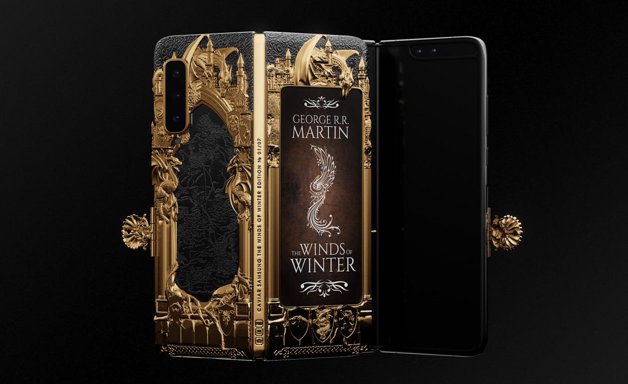 土豪专用!限量七台《冰与火之歌》折叠屏手机现身,定价近六万