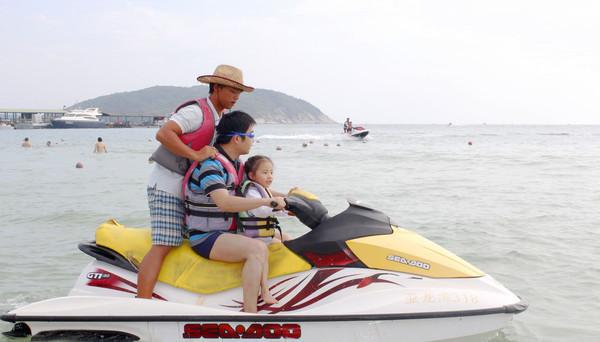 三亚亲子游,陪着孩子渡过美好的假日