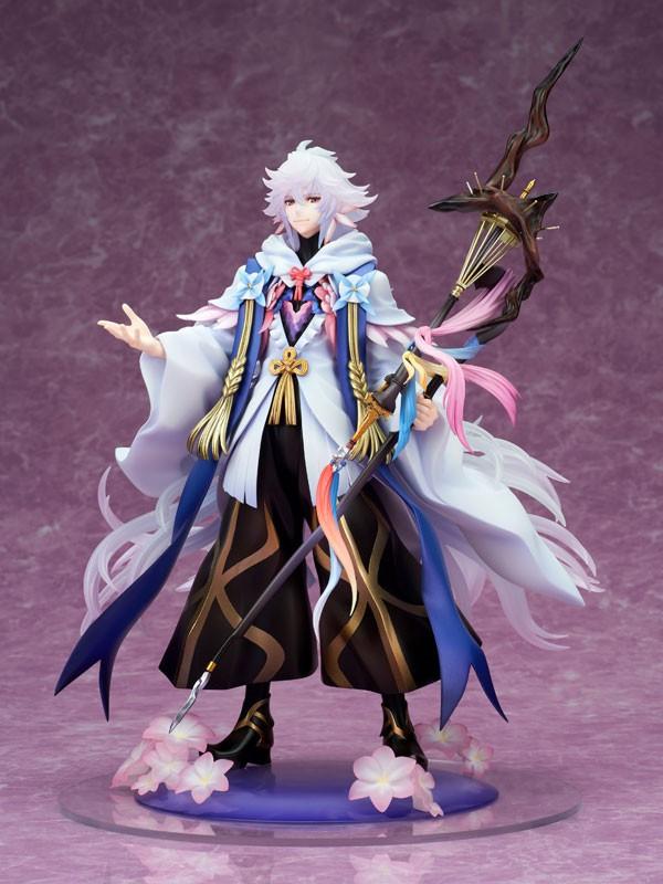《Fate/Grand Orde》梅林手办 花之魔法师妖艳华丽