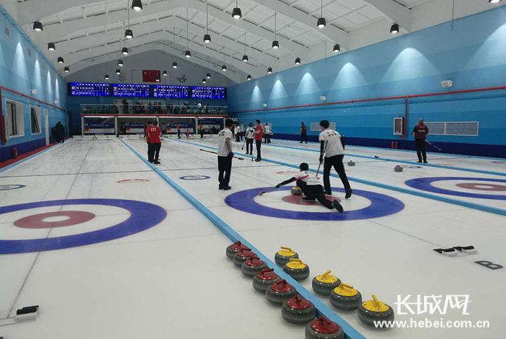 全国第十届残运会冰壶比赛 河北喜获1金1银1铜