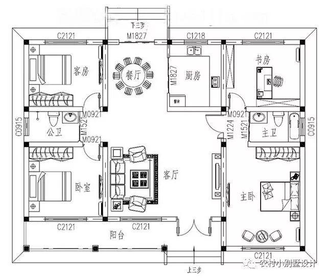32套最新一层客厅别墅,新作设计师农村,总有一个适合你复式效果图装修豪华别墅一线图片