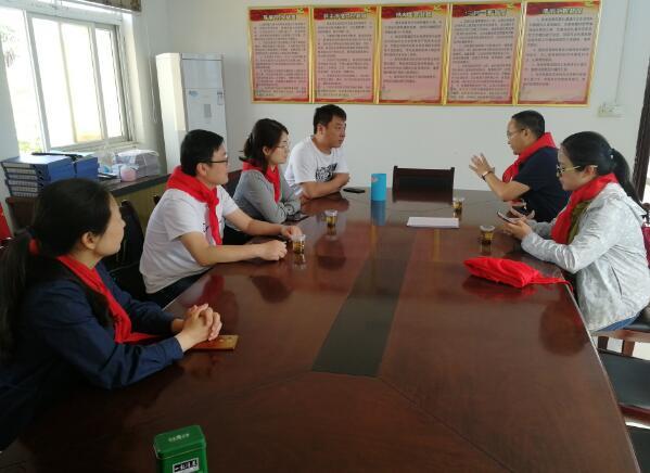 湖北省少工委赴黄集镇学校调研少先队工作