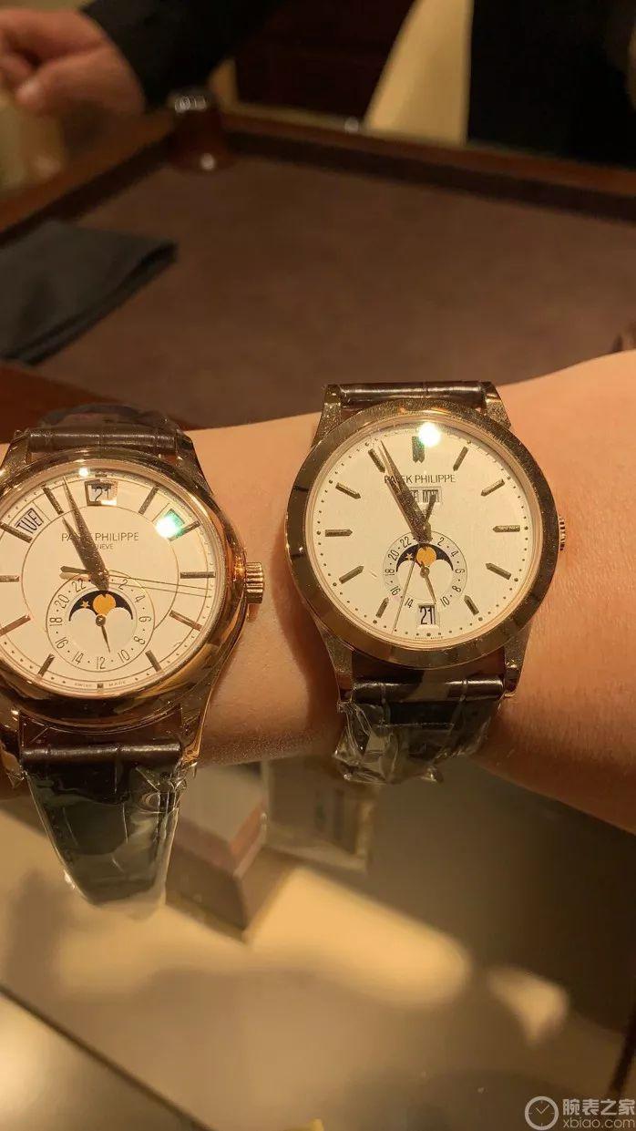 马上奔四的年纪 从苹果表换成百达翡丽5205R_手表