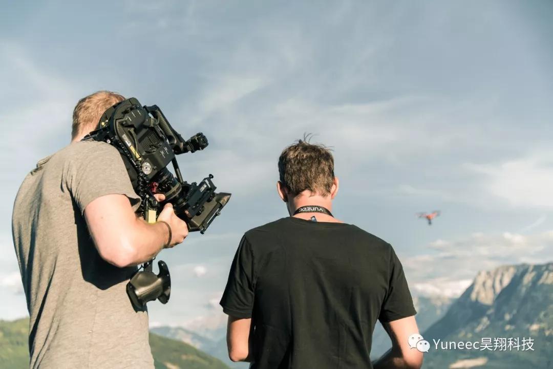 这家奥地利的影视678彩票用YUNEEC 无人机拍大片!
