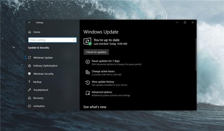微軟2019 Windows 10更新五月版最低配置需求公布