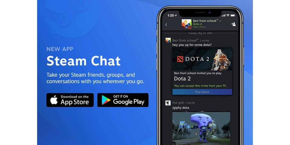 好友聊天不能停 Steam Chat登陆移动平台