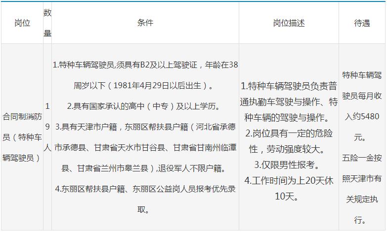 2019年东丽区公开招聘政府购买服务岗位人员19人