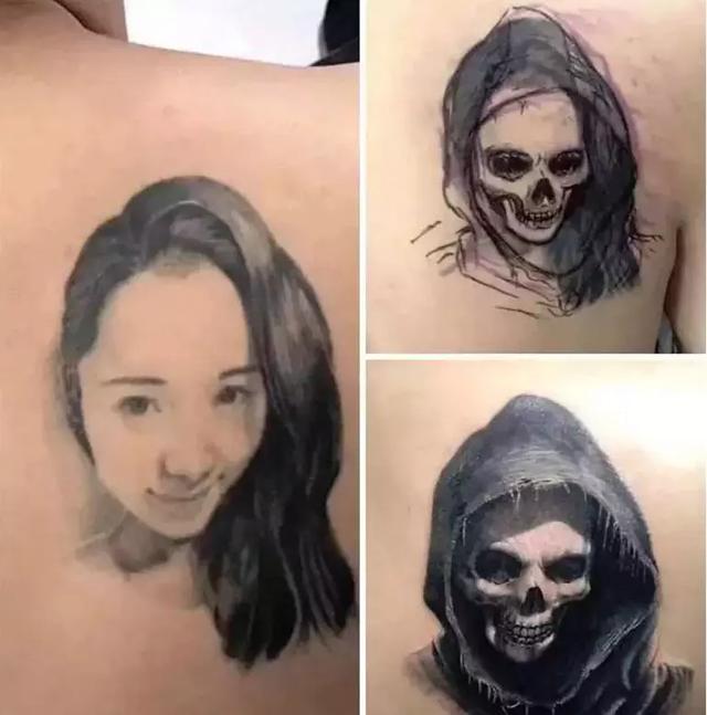 不要把女朋友/男朋友纹在身上!
