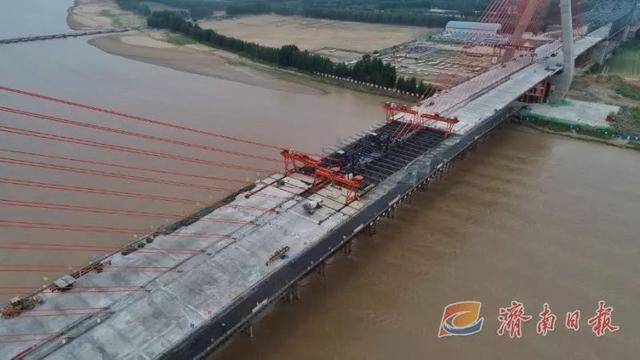 最新进展!黄河特大桥顺利合龙!9月底,山东又一条高速将全线通车!