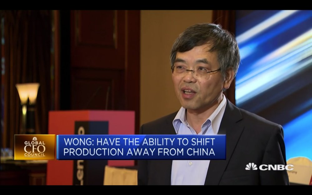 联想CFO:如果美国继续加征关税,联想将撤离在华生产线