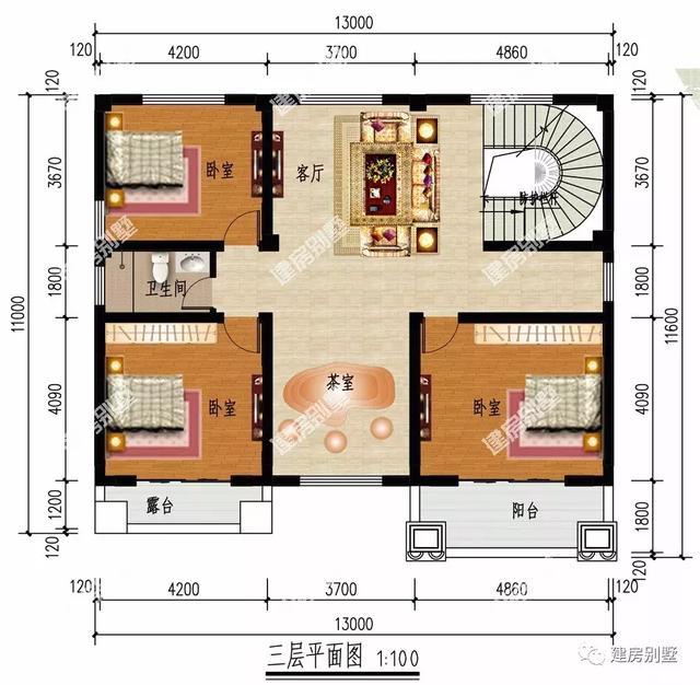 九十方自建房平面图