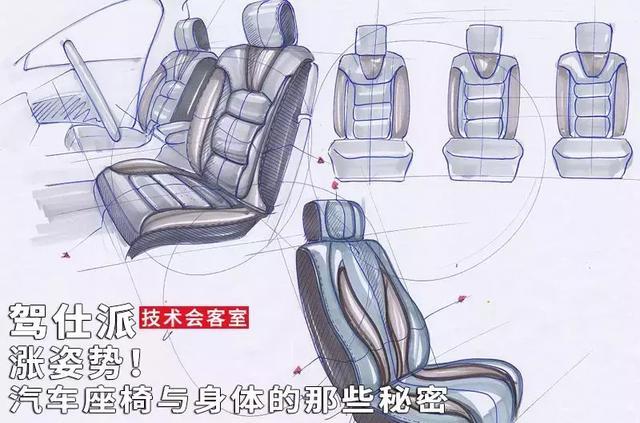 涨姿势!汽车座椅与身体的那些秘密