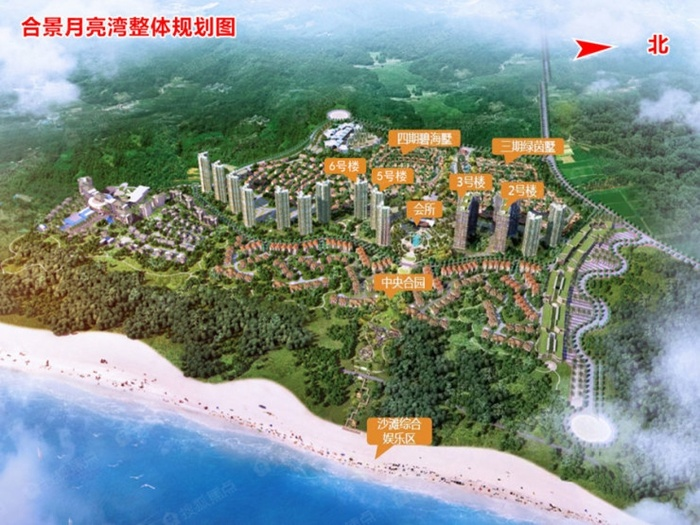 合景月亮湾项目五期在售:无遮挡海景房价格12700元/平起