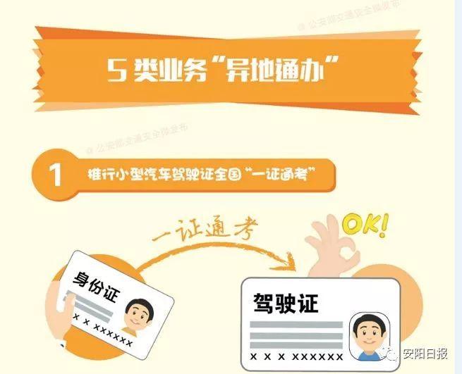 """安阳交警10项便民措施解读之二:驾照申领全国""""一证通考"""""""