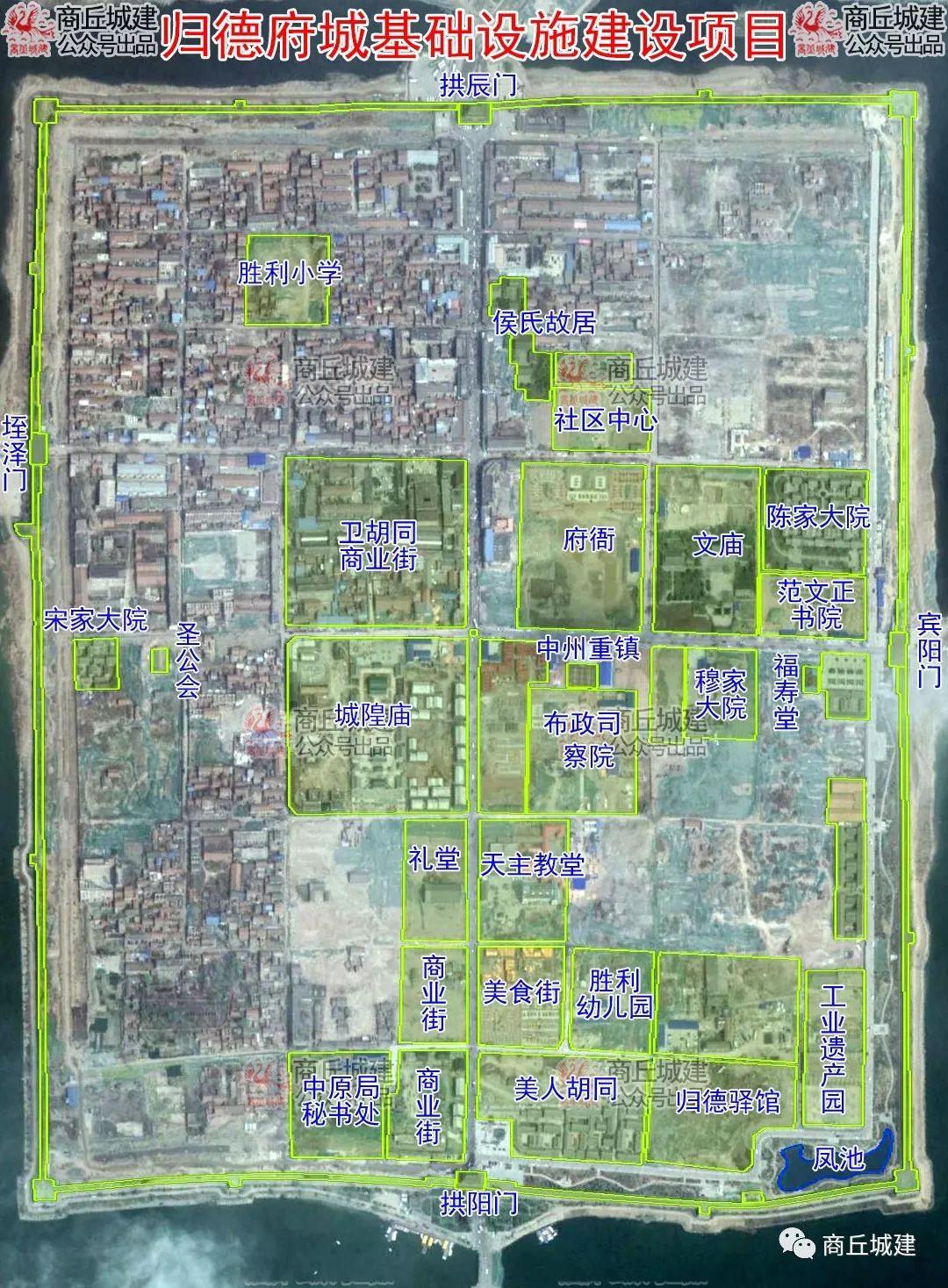 商丘市梁园路新建工程和归德府城基础设施建设项目