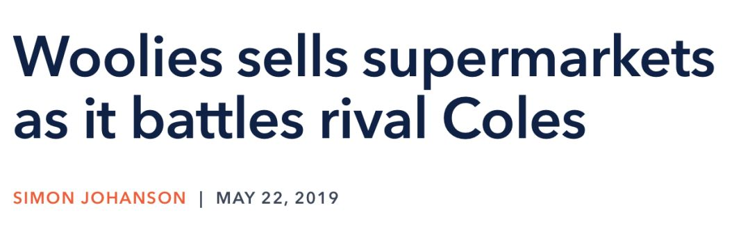"""争破头!WWS大战Coles,大规模""""甩卖超市""""!墨尔本神秘买家低调收购,或成最大赢家!"""