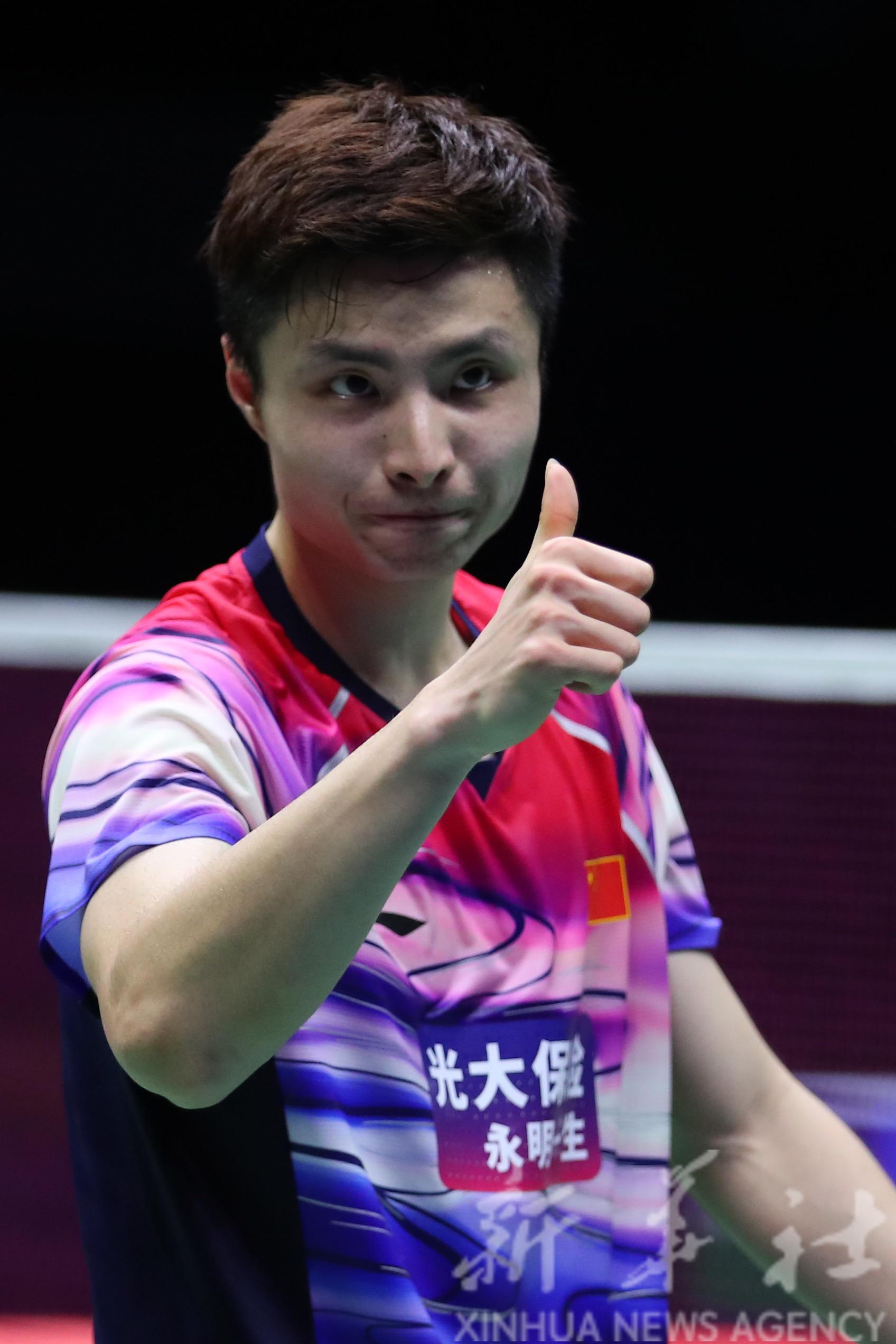 羽毛球——苏迪曼杯半决赛:中国队晋级决赛