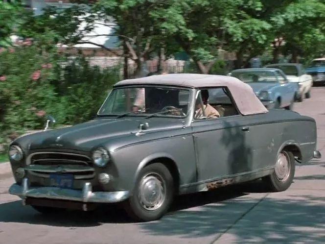 寻找菲林中的标致老爷车