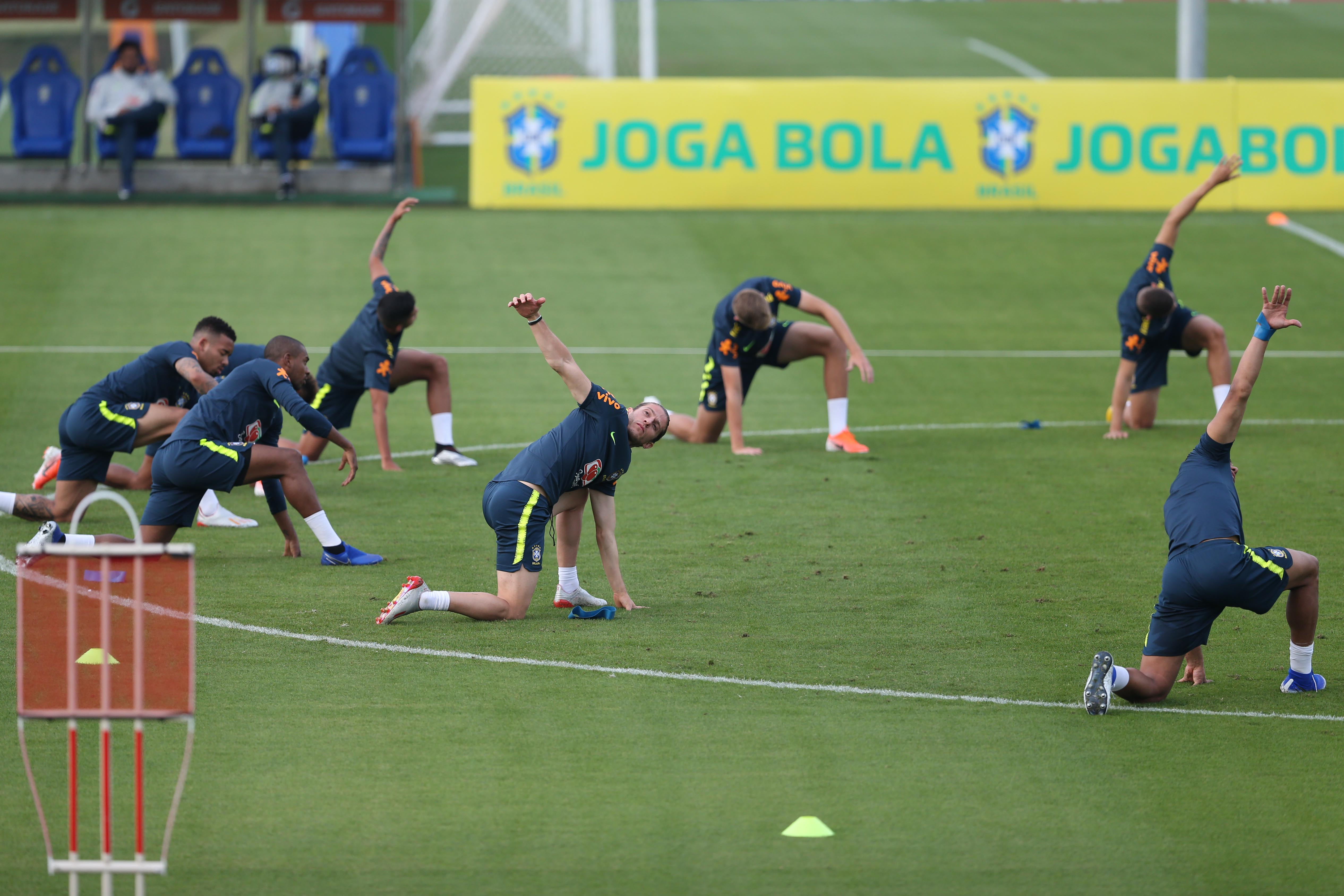 巴西国家男子足球队_足球——巴西队备战美洲杯_特雷索波利斯