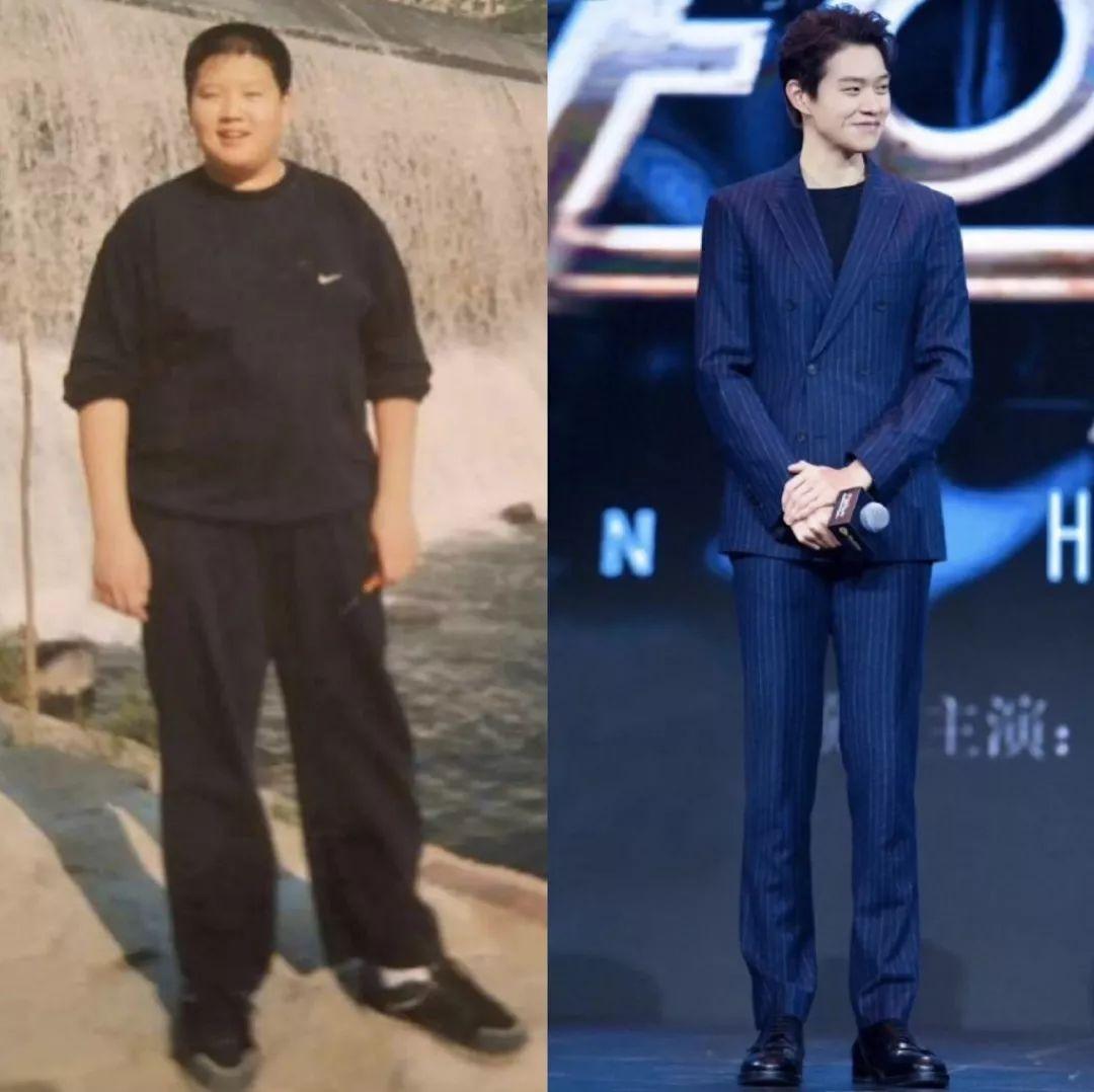 """男胖子减肥对比照片_这个夏天,连""""不自律""""的毛不易都瘦了,你还胖着么?_身材"""