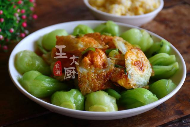 上海青吃加上食谱,出新几个蛐蛐蛋,简单一做给肉都不换鹌鹑柏良花样山东图片