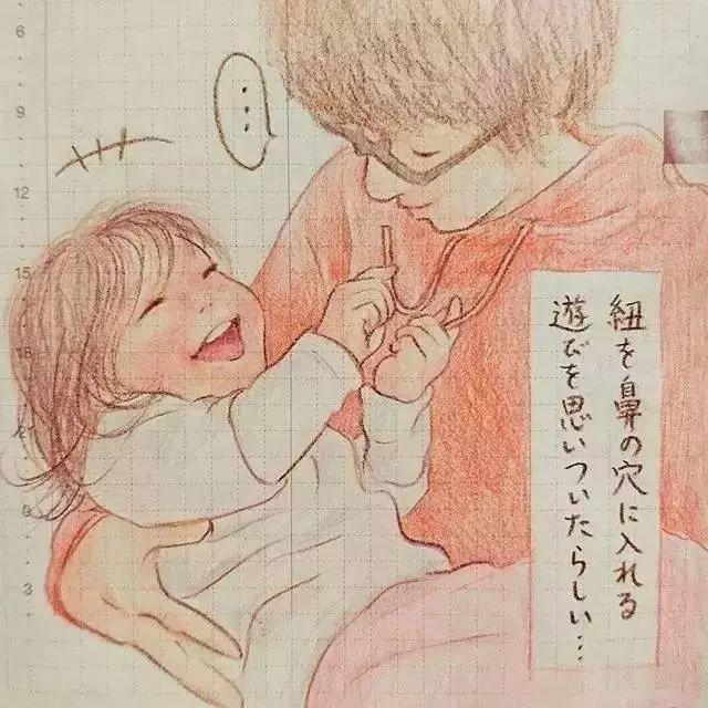 <b>妈妈用手绘记录女儿的生活:谢谢你的到来,让我成为一位母亲!</b>